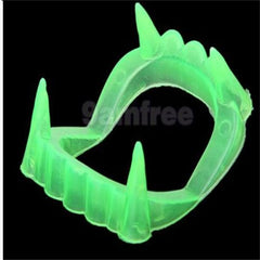 Halloween Party Home Decoration Luminous Vampire Teeth Denture Props Toys For Kids Children