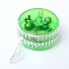Light Up Yoyo Clutch Mechanism Child Toy Speed Ball Return Top