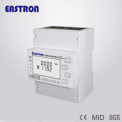 SDM630Modbus PV Solar Energy Measurement Meter Multifunction Digital Din Rail Energy Meter