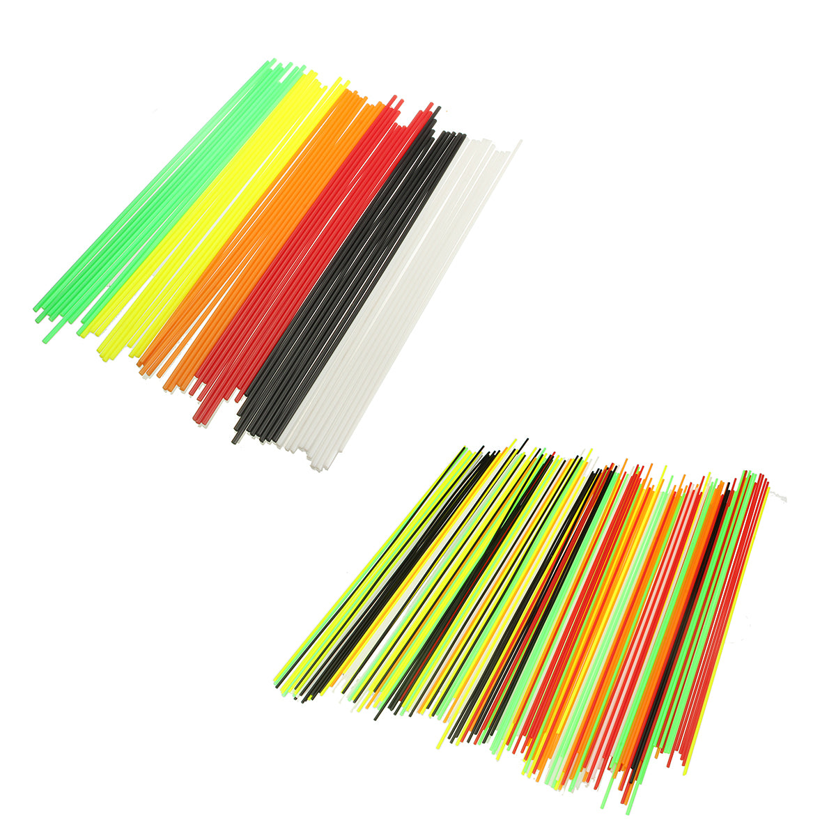 25cm Length 6 Colors 1.75-3.00mm PLA Filament For 3D Printer