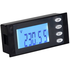 PZEM-002 AC80-260V Digital LCD Current Voltage Watt KWH Time Panel Energy Meter Ammeter Voltmeter