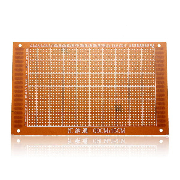 10Pcs 9 x 15cm PCB Prototyping Printed Circuit Board Breadboard