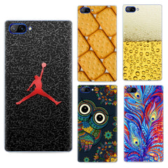 Printing Pattern Anti-Scratch Soft TPU Back Case For DOOGEE MIX