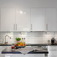 500x30cm Kitchen Waterproof Stickers Cabinets Wardrobe Refurbished Stickers Self Adhesive Sticker