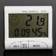 Mini Digital LCD Thermometer Hygrometer Humidity Temperature Meter