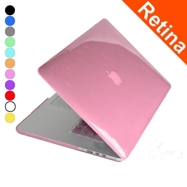 Plastic Hard Cover Crystal Protective Skin Case For Apple Macbook Pro Retina 15.4 Inch