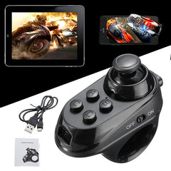 R1 Portable Mini Wireless Bluetooth 4.0 Remote Game Controller Joystick For IOS Android Gamepad VR