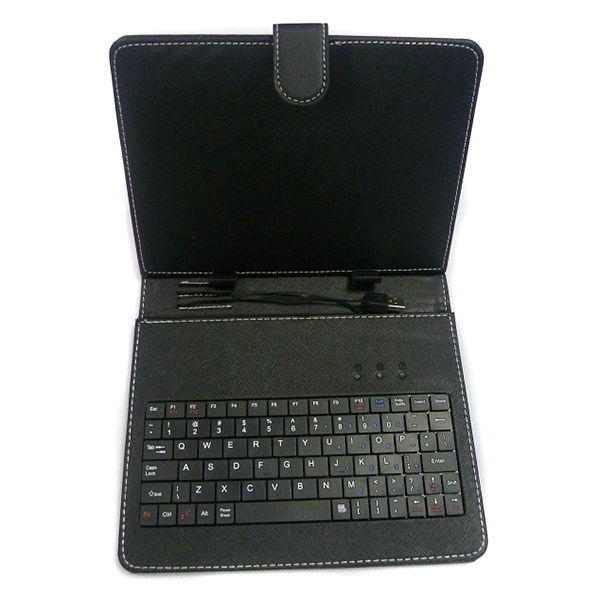 USB Keyboard Bracket Leather Case Bag With Stand For 10 Inch Tablet