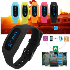 Bluetooth 4.0 Sports Watch WristBand Smart Band Bracelet Pedometer Step Counter