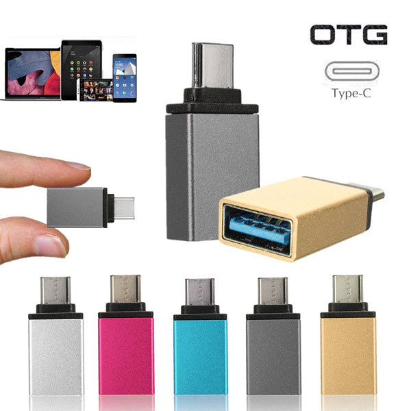 USB 3.1Type C Male to USB 3.0 Female OTG Data Sync Charge Adapter Converter