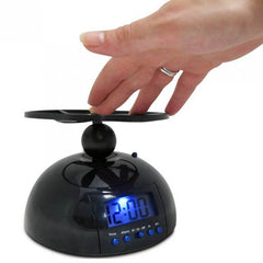Flying Alarm Clock Snooze LCD Digital Alarm Clock UFO Helicopter Annoyed Alarm Clock