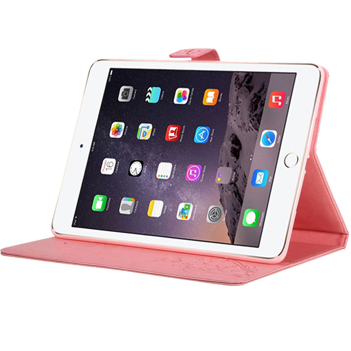 For 9.7 Inch Apple iPad Air 2 Leather Wallet Flip Stand Case Cover With Card Slots