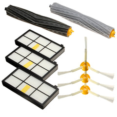 8Pcs Filters Brush Pack Replacement Kit For iRobot Roomba 800 Series 800 870 880