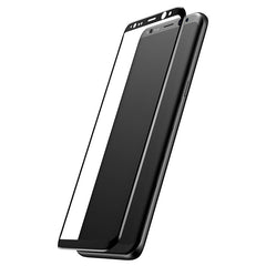 3D Arc Edge 0.3mm Tempered Glass Silk-Screen Rim Full Screen Protector for Samsung Galaxy S8