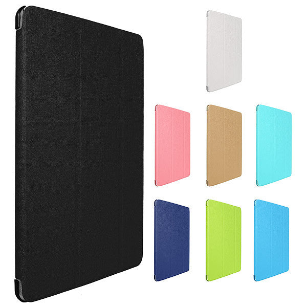 Ultra Slim Smart Wake Sleep Magnetic Leather Stand Case For iPad Air 2