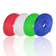 10M 8mm Braided Expandable Cable Gland Sleeving High Density Sheathing