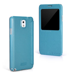 PU View Window Leather Case For Samsung Galaxy Note 3 N9000