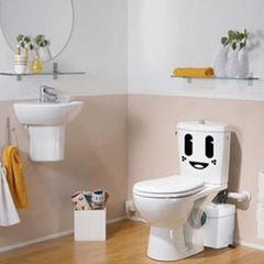 Cute Big Eye Cartoon Toilet Sticker Removable Closestool Sticker
