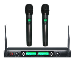 JP6202 Anti-whistling Stereo KTV Live Show Concert Meeting Wireless Handheld Microphone US Plug