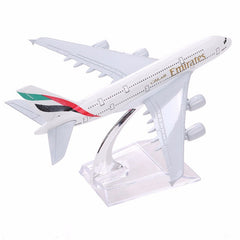 Brand New Airbus380 Emirates Airlines A-380 Aircraft Aeroplane Airplane 16cm Diecast Model
