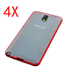 4XTPU Clear Back Frame Case For Samsung Note 3 N9000