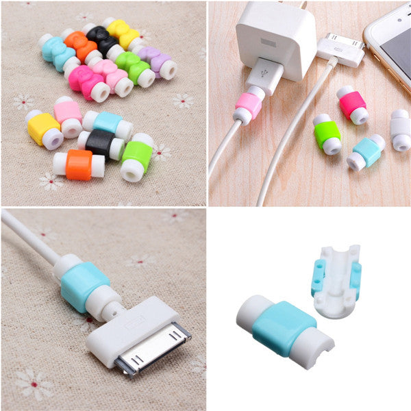 Creative Charger Cable Saver Protector Protective Accessory For Cellphone