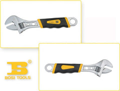6 8Inch BOSI High Quality Classic Adjustable Wrench BS360906 08