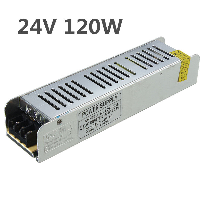 IP20 AC110V-220V To DC24V 120W Switching Power Supply Driver Adapter