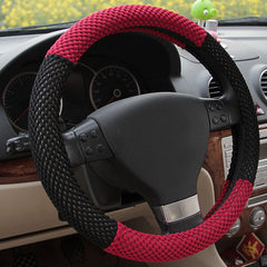 Car Sandwich Fabrics Steel Ring Wheel Cover Non Slip Wheel