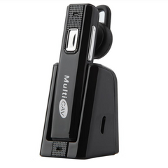 C28 Portable Hands-free In-Car V4.1 Wireless Headset for Samsung HTC Sony LG with Bluetooth Function