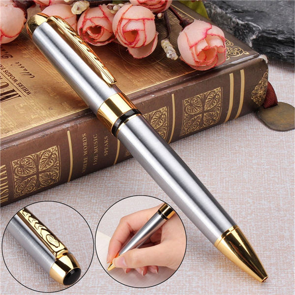Wil je alles weten over JINHAO 250 Ballpoint Pen Gold and Silver Clip Twist Black Ink Ball Point Pen? Hier lees je alles over Office & School Supplies Stationery Supplies