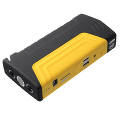 BR-K16 14000mAh Car Jump Starter Power Bank Battery Emergency Power Supply with Inflator Pump