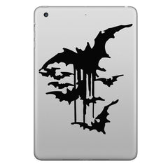 Hat-Prince Bats Decorative Decal Removable Bubble Free Self-adhesive Sticker For iPad Mini 1 2 3 7.9 Inch
