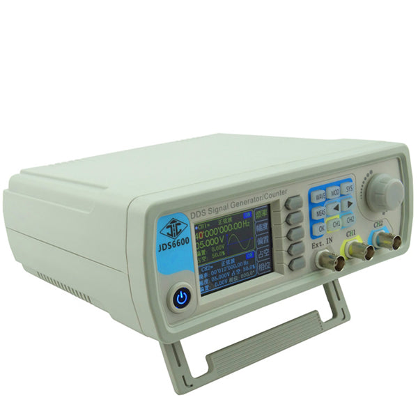 RD® JDS6600 DDS Signal Destination Dual Channel Arbitrary Wave Function Generator Frequency Count