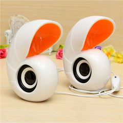 3.5mm Audio Mini Conch USB Speaker For Mac Laptop PC iPhone 6 iPad