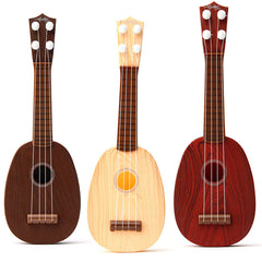 4 String Plastic Ukulele Guitar Kid Education Musical Toy For Children Practice