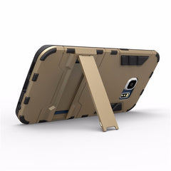2 in 1 Armor Back Protective Shell Stand Holder Case for Samsung Galaxy S6 Edge