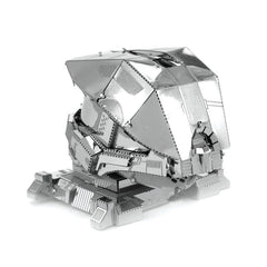 Aipin DIY 3D Metal Puzzle Stainless Steel Model Sergeant Helm Silver Color For Kids Children Toys