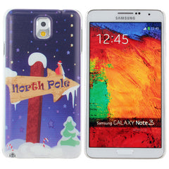 Christmas Guidepost Pattern Case For Samsung Galaxy Note 3