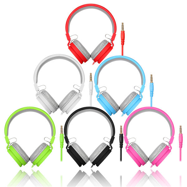 6 Colours TV05 Stereo Headphone Earphone Headset For iPhone iPod MP3 MP4 PC Tablet