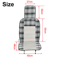 Car Seat Heater Cover DC 12V Electric Heated Seat Pad Winter Warmer Cushion