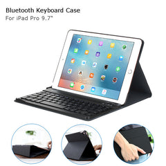 Original ROCK 3 in 1 Separable Bluetooth Keyboard Case Cover Tablet Holder For iPad Pro 9.7 Inch