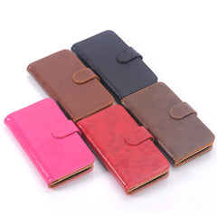 Card slots Wallet Leather Stand Case Cover For Samsung Galaxy S6 Edge