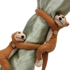 1Pair Monkeys Curtain Buckle Tie Backs Holder Window Drapery Decoration