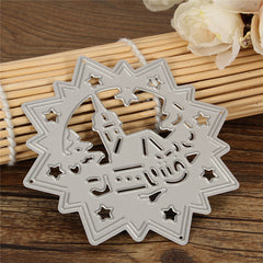 House Cutting Dies Stencils Scrapbooking Album Paper Card Embossing Decor Craft