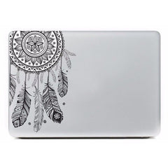 Feather Pattern Vinyl Decal Laptop Skin Cover Sticker For Apple Macbook Air Pro Retina 13 inch