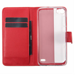 Mohoo PU Flip Leather Cover Wallet Case Slot Pocket Stand For Doogee F3 F3 Pro