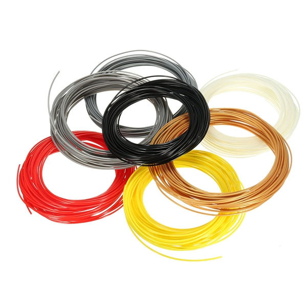 1Pc 20M 3D Printer Filament 1.75mm ABS For Pen RepRap
