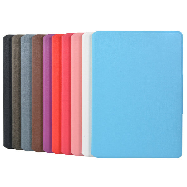 Luxury Oracle Grain Card Holder Leather Stand Case For iPad Air 2