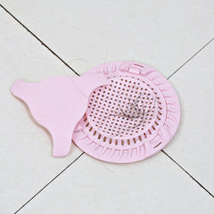 Creative Double Layers Floor Drain Kitchen Food Residue Strainer Bathroom Hair Floor Drain